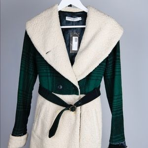 Opening Ceremony Wool Wide Shawl Women's Jacket